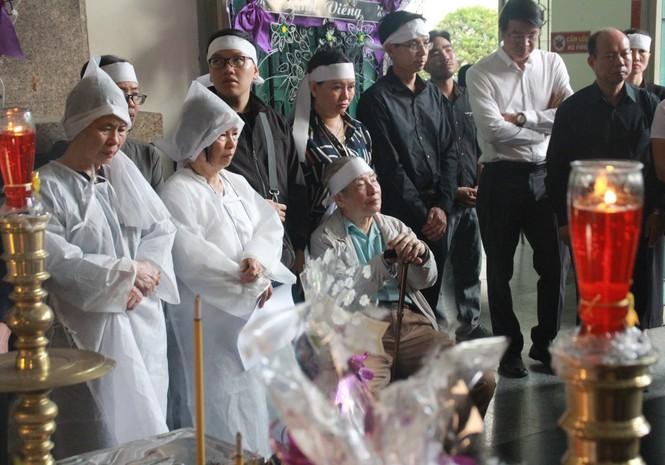 Tiễn đưa nhạc sỹ Nguyễn Văn Tý về nơi an nghỉ  - ảnh 8