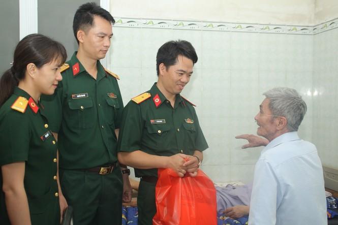 Tuổi trẻ Bệnh viện Quân y 175 tri ân thương bệnh binh - ảnh 2