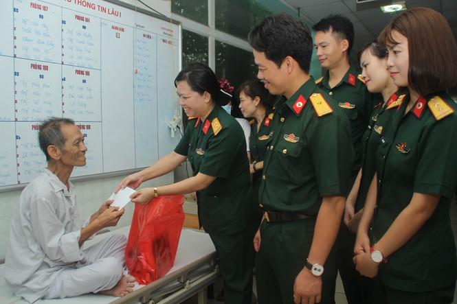Tuổi trẻ Bệnh viện Quân y 175 tri ân thương bệnh binh - ảnh 1