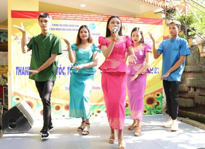 Nhiều hoạt động chăm lo tại ngày hội Thanh niên các dân tộc, tôn giáo  - ảnh 5