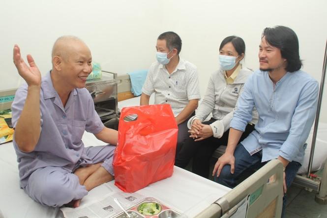 Chuyến thiện nguyện đầu tiên của Top 3 HHVN 2020 đến với các bệnh nhân, thương bệnh binh - ảnh 4