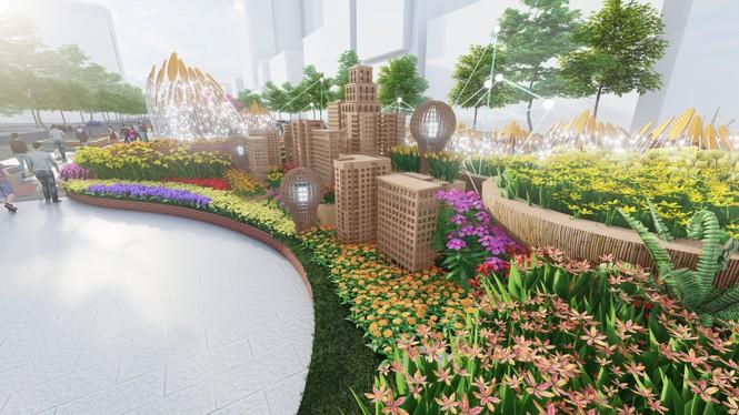 Lộ thiết kế đường hoa Nguyễn Huệ Tết Tân Sửu - ảnh 9