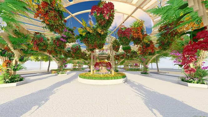 Lộ thiết kế đường hoa Nguyễn Huệ Tết Tân Sửu - ảnh 8