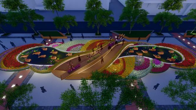 Lộ thiết kế đường hoa Nguyễn Huệ Tết Tân Sửu - ảnh 6
