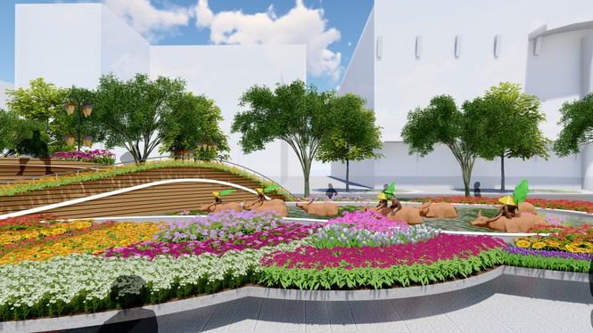 Lộ thiết kế đường hoa Nguyễn Huệ Tết Tân Sửu - ảnh 5