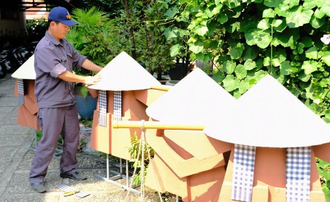 Tận thấy công đoạn chế tác linh vật phục vụ đường hoa Nguyễn Huệ Tết Tân Sửu 2021 - ảnh 18