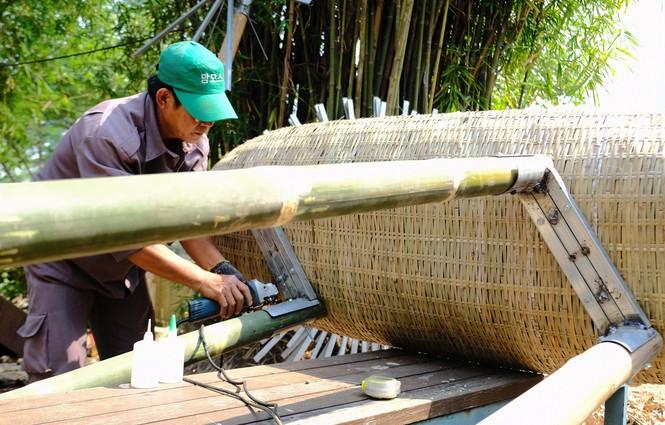 Tận thấy công đoạn chế tác linh vật phục vụ đường hoa Nguyễn Huệ Tết Tân Sửu 2021 - ảnh 19