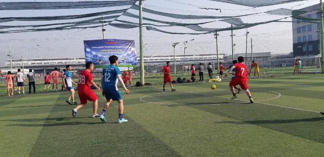Đội bóng Đoàn Thanh niên EVNHCM vô địch Giải bóng đá Tienphong Champions Cup 2019 - ảnh 1