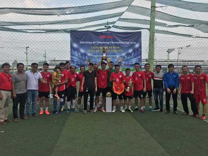 Đội bóng Đoàn Thanh niên EVNHCM vô địch Giải bóng đá Tienphong Champions Cup 2019 - ảnh 2