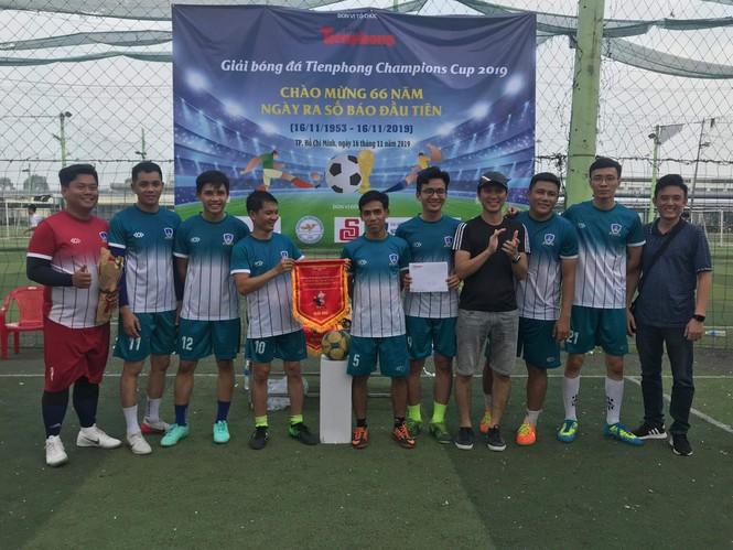 Đội bóng Đoàn Thanh niên EVNHCM vô địch Giải bóng đá Tienphong Champions Cup 2019 - ảnh 3