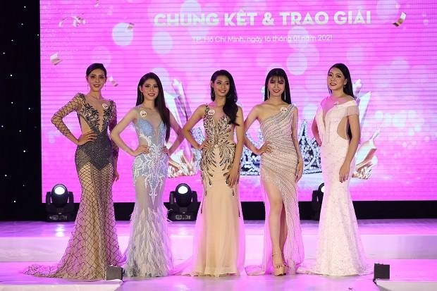 Mai Hiếu Ngân đăng quang Hoa khôi Miss HUTECH 2021 - ảnh 3