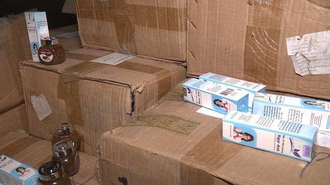 Thu giữ gần 10.000 sản phẩm thuốc đông y không đảm bảo - ảnh 1