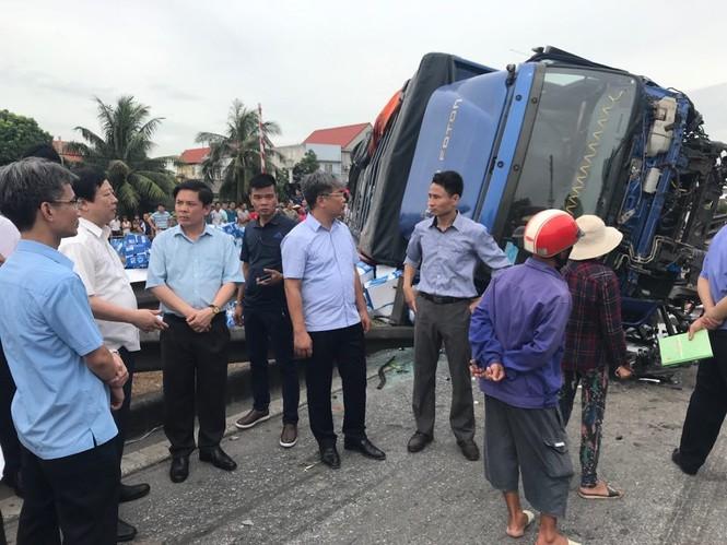 Tài xế xe tải tông 7 người sang đường ở Hải Dương khai gì? - ảnh 3