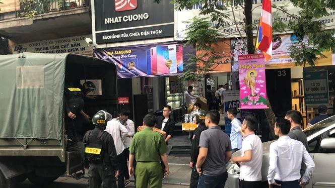 Hà Nội cung cấp tài liệu phục vụ điều tra vụ Nhật Cường Mobile - ảnh 1