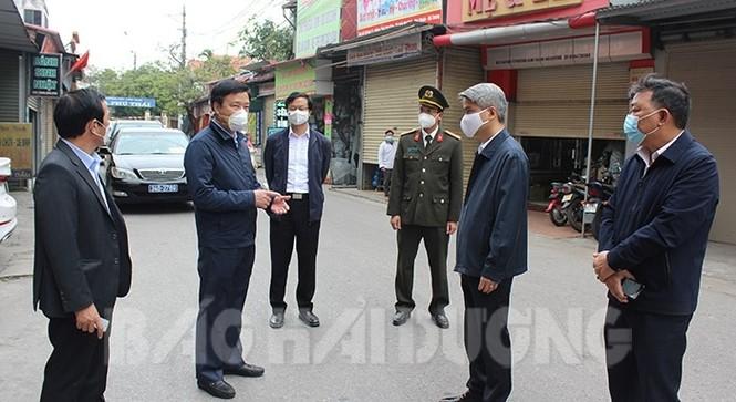 Cách ly 180 trường hợp liên quan đến ổ dịch huyện Kim Thành - ảnh 1
