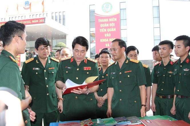 Sửa đổi quy chế, tổ chức hoạt động Giải thưởng TTST trong Quân đội - ảnh 2