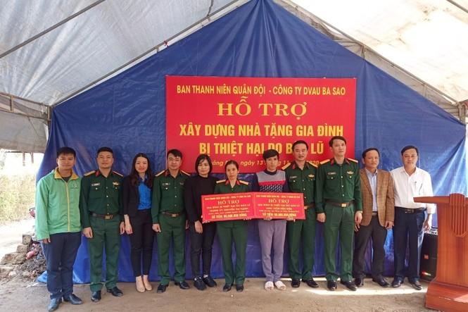 Tuổi trẻ Quân đội hướng về miền Trung - ảnh 1