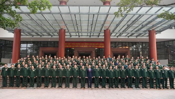 Quân ủy T.Ư gặp mặt 125 đại biểu Quân đội dự Đại hội Đảng XIII - ảnh 2