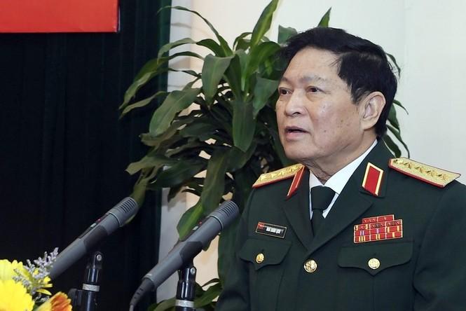Quân ủy T.Ư gặp mặt 125 đại biểu Quân đội dự Đại hội Đảng XIII - ảnh 1