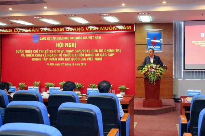 PVN triển khai kế hoạch tổ chức Đại hội Đảng bộ các cấp - ảnh 1