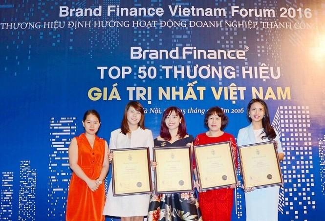 Vingroup sở hữu 5 danh hiệu Thương hiệu Giá trị nhất Việt Nam - ảnh 1