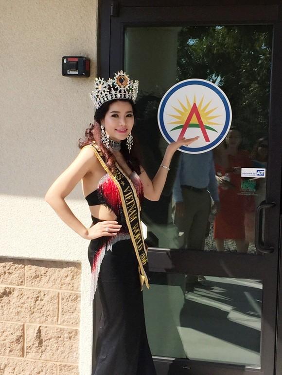 Hoa hậu Xuân Thủy đã sẵn sàng cho 'cuộc chiến' tại Mrs. World - ảnh 8