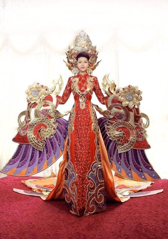 Hoa hậu Xuân Thủy đã sẵn sàng cho 'cuộc chiến' tại Mrs. World - ảnh 1