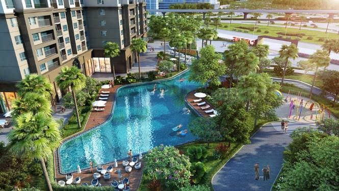 Vinhomes ra mắt 2 tòa đầu tiên của dự án D'.Capitale Trần Duy Hưng  - ảnh 1