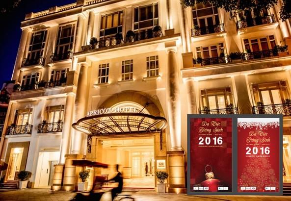 Dạ tiệc Đêm Giáng sinh 2016 hoành tráng tại khách sạn Apricot  - ảnh 1