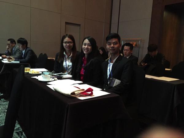 Sinh viên đại học Tân Tạo thuyết trình tại Hội thảo tim mạch ở Hàn Quốc - ảnh 1