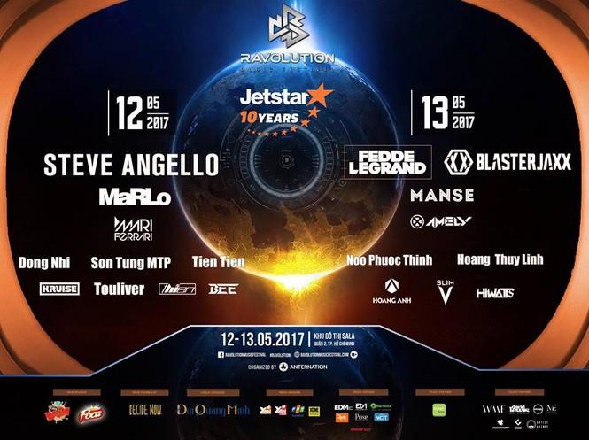 'Ravolution Music Festival by Jetstar' – Tết của 'tín đồ' yêu EDM Việt Nam - ảnh 1