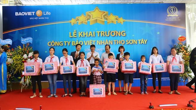 Bảo Việt Nhân thọ: Khai trương công ty thành viên thứ 71 - ảnh 1