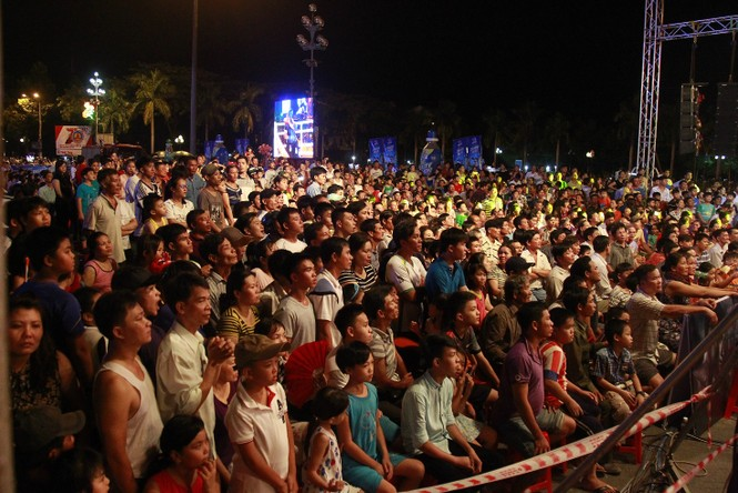 Khán giả Quảng Ngãi mãn nhãn với các trận chung kết Võ cổ truyền  - ảnh 1
