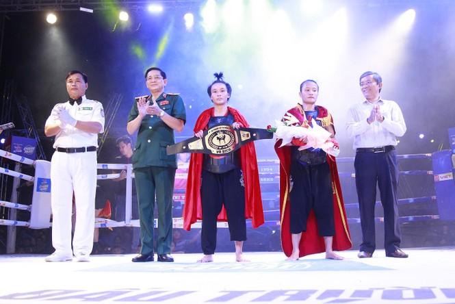 Khán giả Quảng Ngãi mãn nhãn với các trận chung kết Võ cổ truyền  - ảnh 3