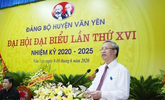 Thường trực Ban Bí thư dự đại hội điểm cấp huyện tại Yên Bái - ảnh 2