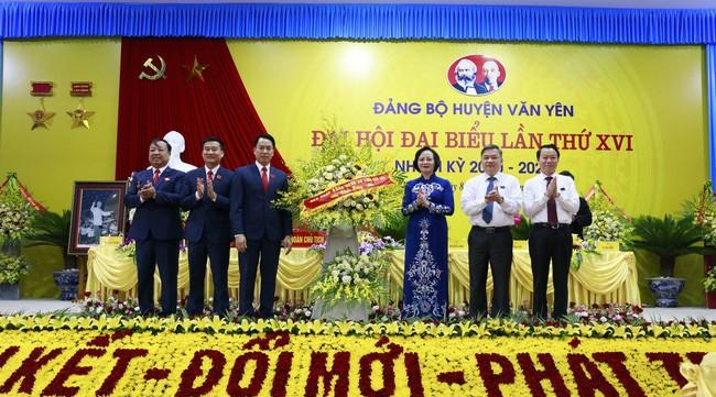 Thường trực Ban Bí thư dự đại hội điểm cấp huyện tại Yên Bái - ảnh 3