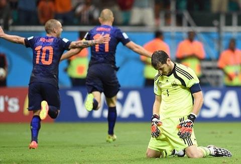 Đội hình gây thất vọng nhất World Cup 2014 - ảnh 1