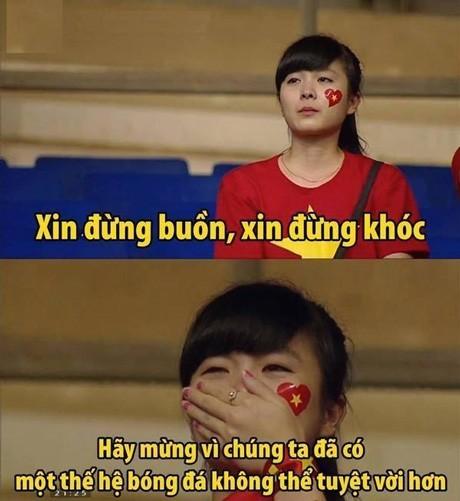 Nữ CĐV đáng yêu bật khóc vì U19 Việt Nam gây sốt mạng - ảnh 4