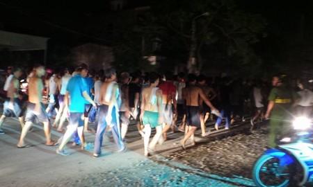 Hơn 400 học viên cai nghiện phá trung tâm, kéo về TP Hải Phòng - ảnh 1