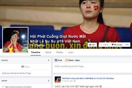 Nữ CĐV đáng yêu bật khóc vì U19 Việt Nam gây sốt mạng - ảnh 6
