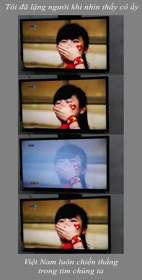 Nữ CĐV đáng yêu bật khóc vì U19 Việt Nam gây sốt mạng - ảnh 5