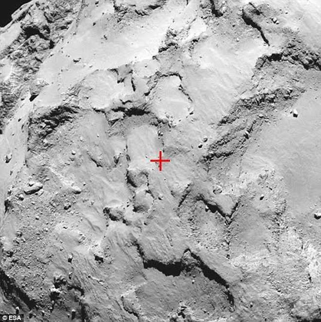 Bí ẩn những tia nước trên sao chổi 67P - ảnh 2