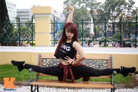 Cô gái Hải Phòng đam mê dance sport - ảnh 1