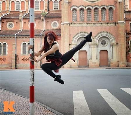 Cô gái Hải Phòng đam mê dance sport - ảnh 2