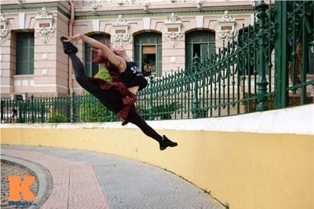Cô gái Hải Phòng đam mê dance sport - ảnh 4