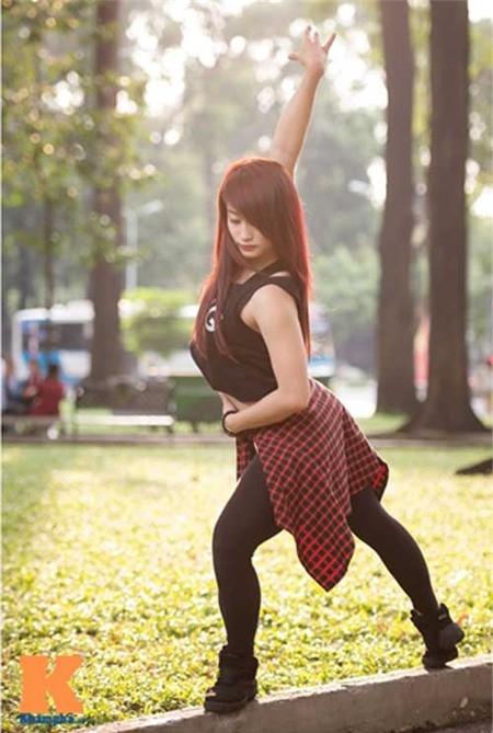 Cô gái Hải Phòng đam mê dance sport - ảnh 5