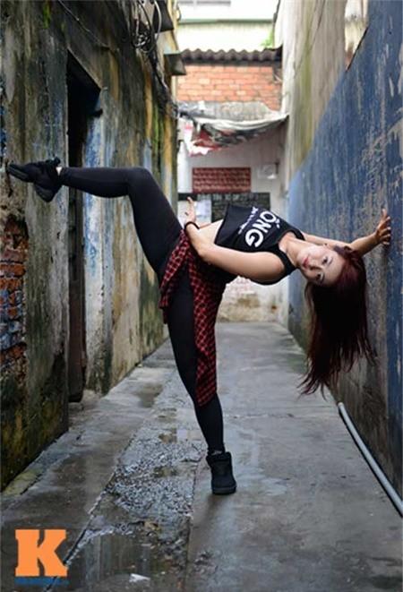Cô gái Hải Phòng đam mê dance sport - ảnh 7