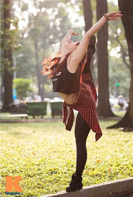 Cô gái Hải Phòng đam mê dance sport - ảnh 8