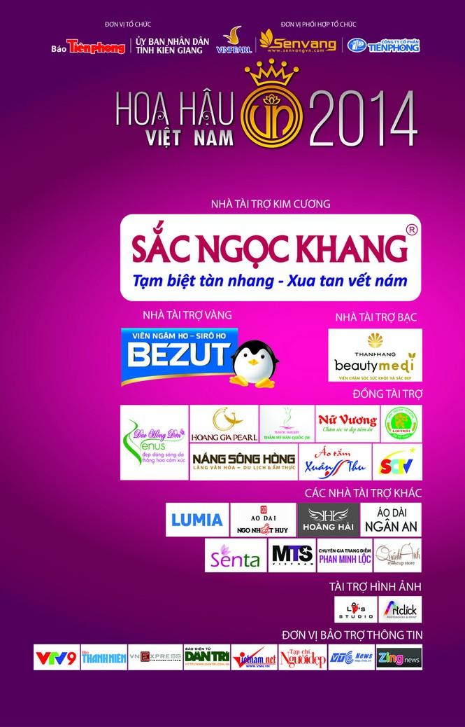 Giúp thí sinh Hoa hậu Việt Nam 2014 tỏa sáng  - ảnh 1
