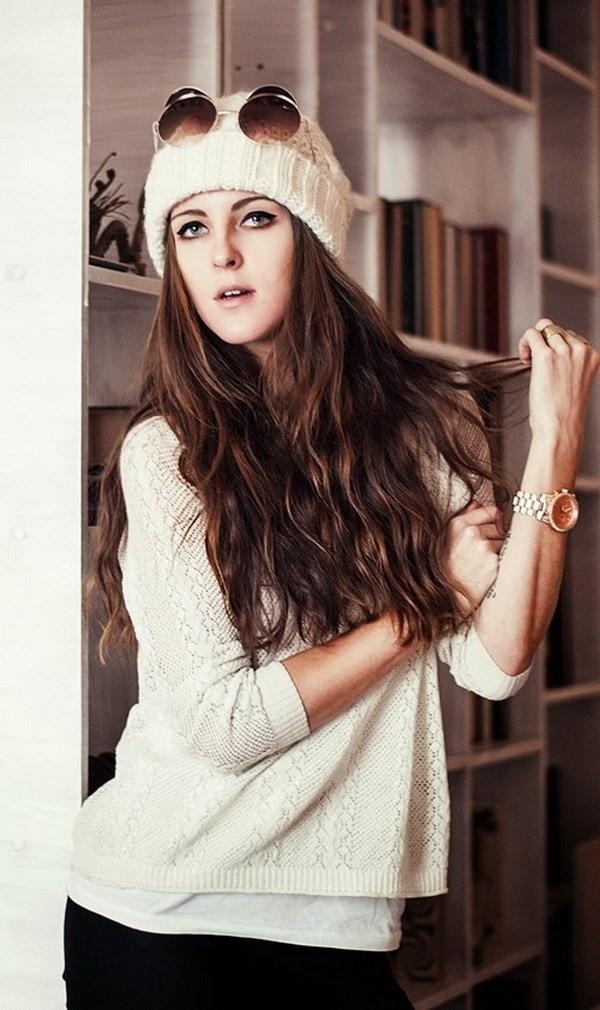 """Những phong cách kết hợp """"cực ăn ý"""" giữa mũ len và kiểu tóc - ảnh 10"""